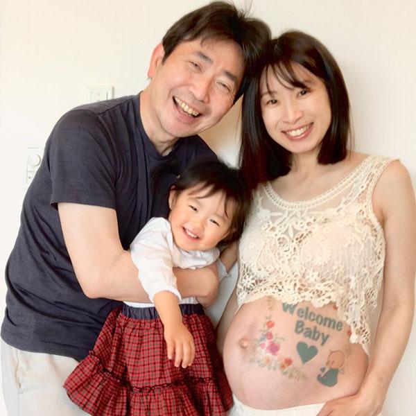 ふみちゃんちゃん<br>生まれてくるのをみんなで楽しみに待ってるよ!