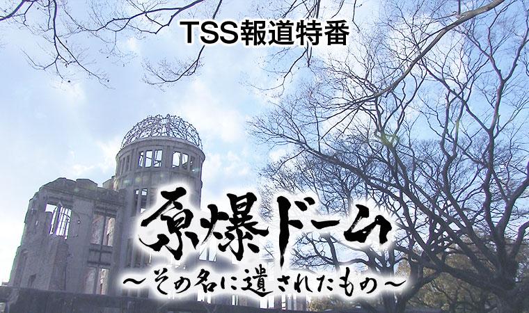 原爆ドーム~その名に遺されたもの~|テレビ新広島